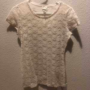 5 for $20 White Lace Top